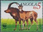 Angola 1990 WWF - Giant Sable Antelope b