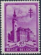 Belgium 1939 Anti Tuberculosis - Belfries c