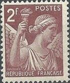 France 1944 Iris (3rd Group) e