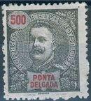 Ponta Delgada 1897 D. Carlos I n