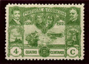 Portugal 1923 First flight Lisbon Brazil d