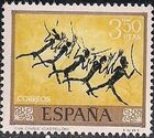 Spain 1967 - Wall Paintings from Paleolithic and Mesolithic Found in Spanish Caves h