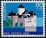 Switzerland 1978 PRO PATRIA - Castles d
