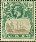 Ascension 1924 Seal of the Colony bc