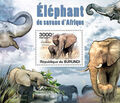 Burundi 2011 Elephants of the African Savanna SSh.jpg
