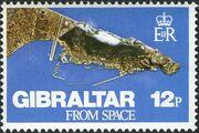 Gibraltar 1978 Gibraltar from Space a