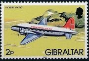 Gibraltar 1982 Airplanes b