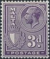 Malta 1926 King George V and Coat of Arms g.jpg