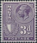 Malta 1926 King George V and Coat of Arms g