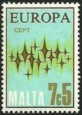 Malta 1972 Europa d