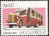 Mozambique 1980 Public Transportation in Mozambique c