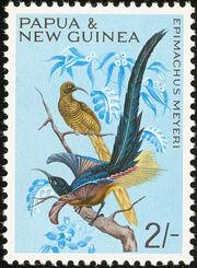 Papua New Guinea 1965 Birds d