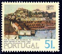 Portugal 1984 Portugues-Brazilian Stamp Exhibition LUBRAPEX '84 c