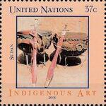United Nations-New York 2006 Indigenous Art e