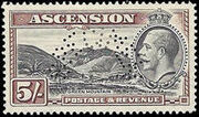 Ascension 1934 George V and Sights of Ascension t