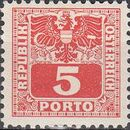 Austria 1945 Coat of Arms and Digit d
