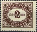 Austria 1947 Postage Due Stamps - Type 1894-1895 with 'Republik Osterreich' b