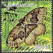 Azerbaijan 2002 Butterflies and Moths f