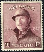 Belgium 1919 King Albert in Trench Helmet n