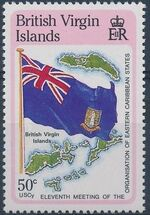 British Virgin Islands 1987 11th Meeting of the Organization of Eastern Caribbean States f
