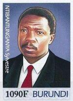 Burundi 2012 Presidents of Burundi - Sylvestre Ntibantunganya i