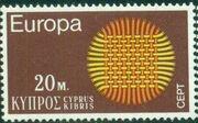 Cyprus 1970 EUROPA - CEPT a