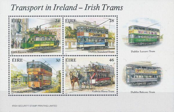 Ireland 1987 Transport in Ireland - Irish Trams c
