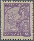 Macao 1934 Padrões p