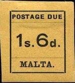 Malta 1925 Postage Due Stamps j
