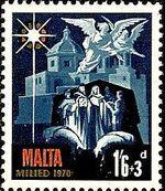Malta 1970 Christmas c