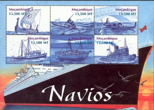 Mozambique 2002 Ships Sb