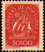 Portugal 1943 Portuguese Caravel (2nd Issue) k