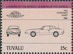 Tuvalu 1984 Leaders of the World - Auto 100 (1st Group) g