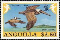 Anguilla 1990 Christmas - Birds d