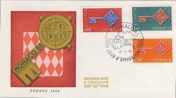 Monaco 1968 Europa j
