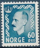 Norway 1951 King Haakon VII f