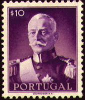 Portugal 1945 President Carmona a