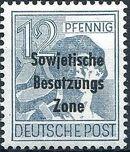 Russian Zone 1948 Overprint - Sowjetische Besatzungs Zone e
