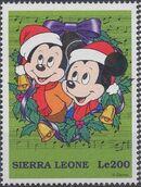 Sierra Leone 1997 Disney Christmas Stamps b