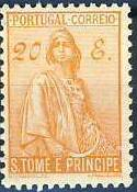 St Thomas and Prince 1934 Ceres - New Values s