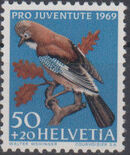 Switzerland 1969 PRO JUVENTUTE - Birds d