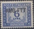 Trieste-Zone A 1950 Postage Due Stamps of Italy 1947-1954 Overprinted a.jpg