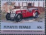 Tuvalu-Funafuti 1984 Leaders of the World - Auto 100 (1st Group) j