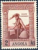 Angola 1938 Portuguese Colonial Empire o