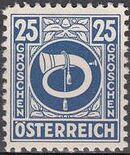 Austria 1945 Posthorn k