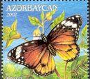 Azerbaijan 2002 Butterflies and Moths