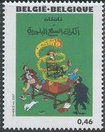 Belgium 2007 Tintin book covers translated n