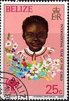 Belize 1980 International Year of the Child a