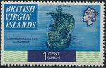 British Virgin Islands 1970 Ships b