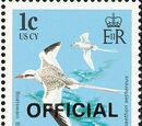 British Virgin Islands 1986 Birds Ovptd. OFFICIAL
